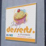 Just Desserts company logo